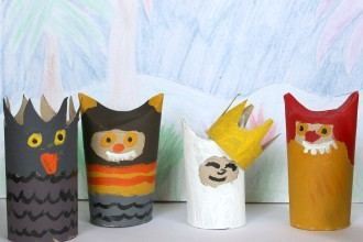 WHERE THE WILD THINGS ARE  -  TUBE DOLLS